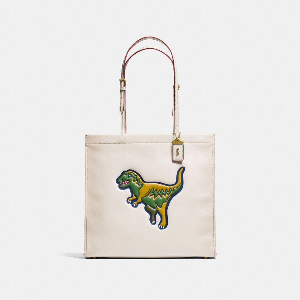 REXY SKINNY TOTE IN GLOVETANNED LEATHER - Alternate View