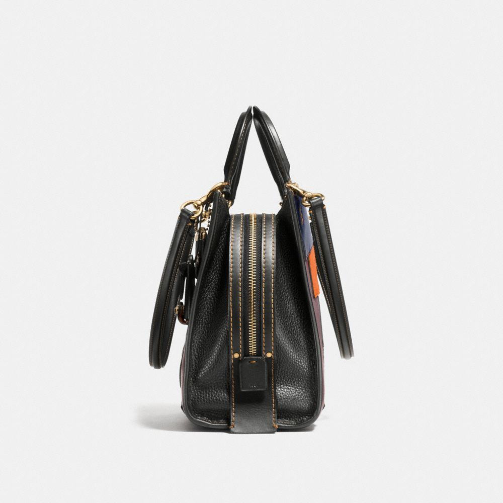 Rogue Bag in Patchwork Leather - Alternate View A1