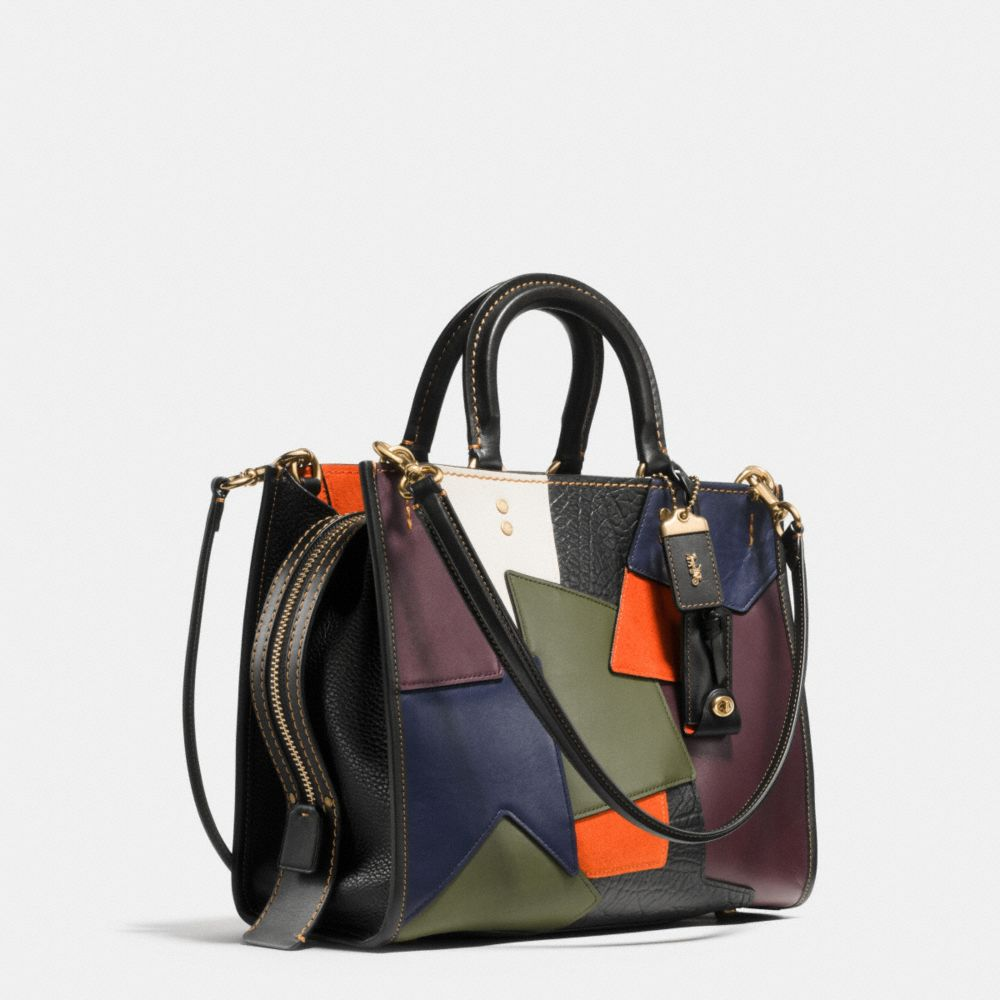 ROGUE BAG IN PATCHWORK LEATHER - Alternate View A2