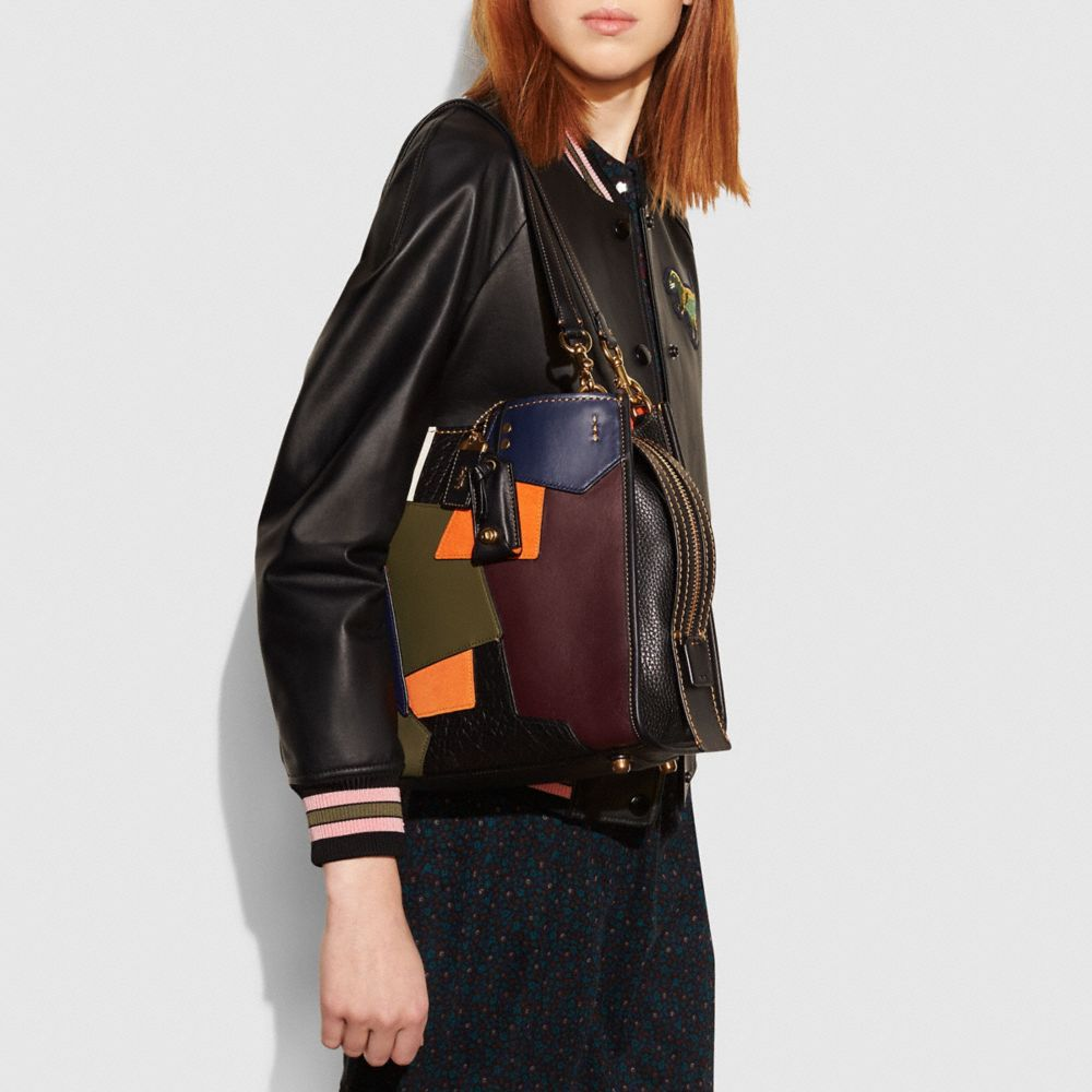 Rogue Bag in Patchwork Leather - Alternate View A4