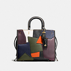 ROGUE WITH PATCHWORK - OL/BLACK MULTI - COACH 54552