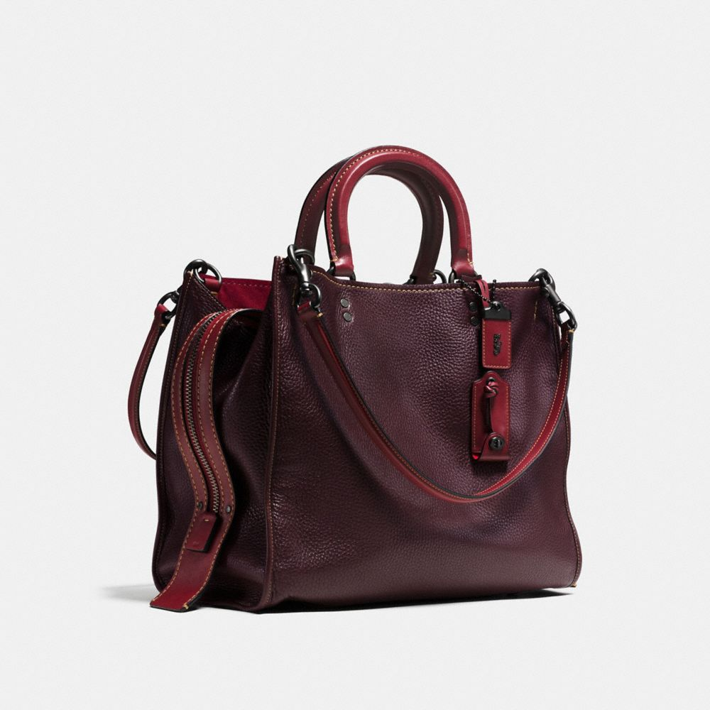 Rogue Bag 36 in Glovetanned Pebble Leather - Alternate View A2