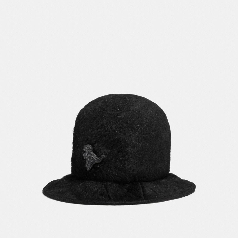 FURRY FELT HAT