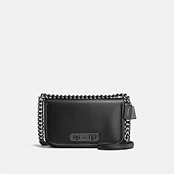 COACH SWAGGER SHOULDER BAG - DK/BLACK - COACH 54640