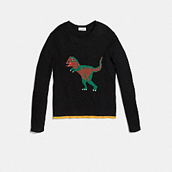 REXY SWEATER - BLACK - COACH 54733