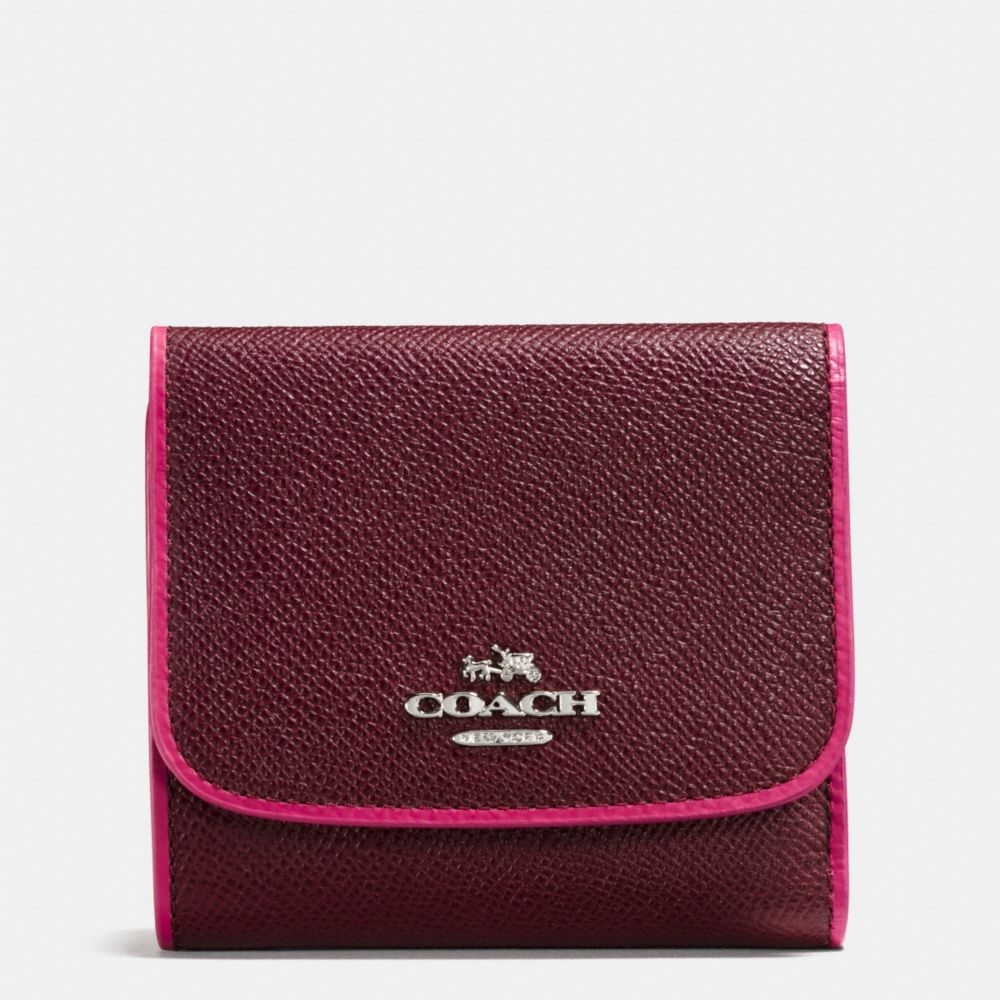 SMALL WALLET IN EDGESTAIN LEATHER - Alternate View