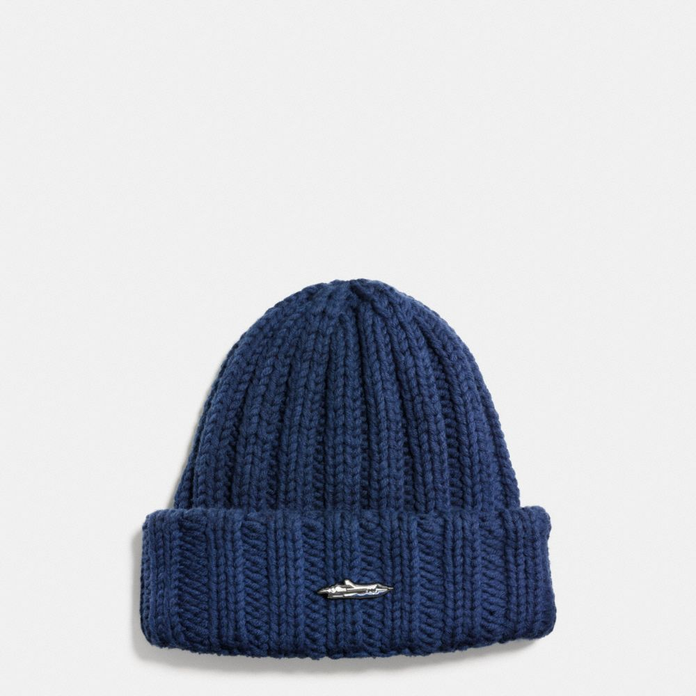 Coach Ribbed Chunky Hat