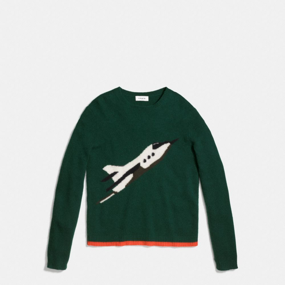 ROCKET SHIP SWEATSHIRT
