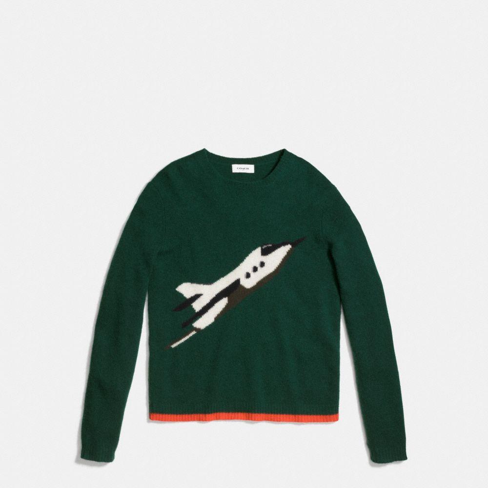 Coach Rocket Ship Sweatshirt