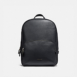 KENNEDY BACKPACK - MIDNIGHT NAVY/SILVER - COACH 54857