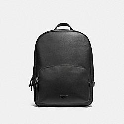 KENNEDY BACKPACK - BLACK/SILVER - COACH 54857