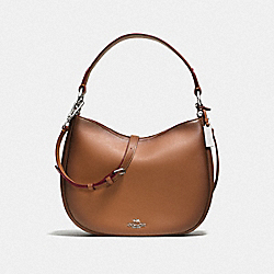MAE CROSSBODY - SV/SADDLE - COACH 54868