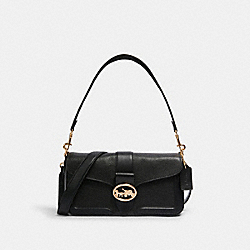 GEORGIE SHOULDER BAG - IM/BLACK - COACH 5493