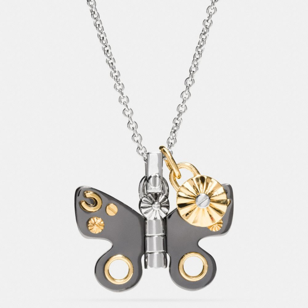 BUTTERFLY NECKLACE - Alternate View