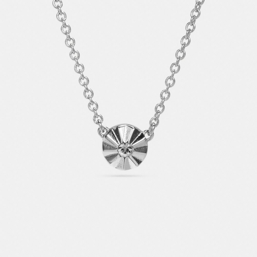 DELICATE DAISY RIVET NECKLACE - Alternate View