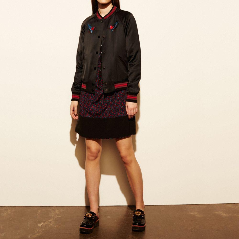 Souvenir Sky Varsity Jacket
