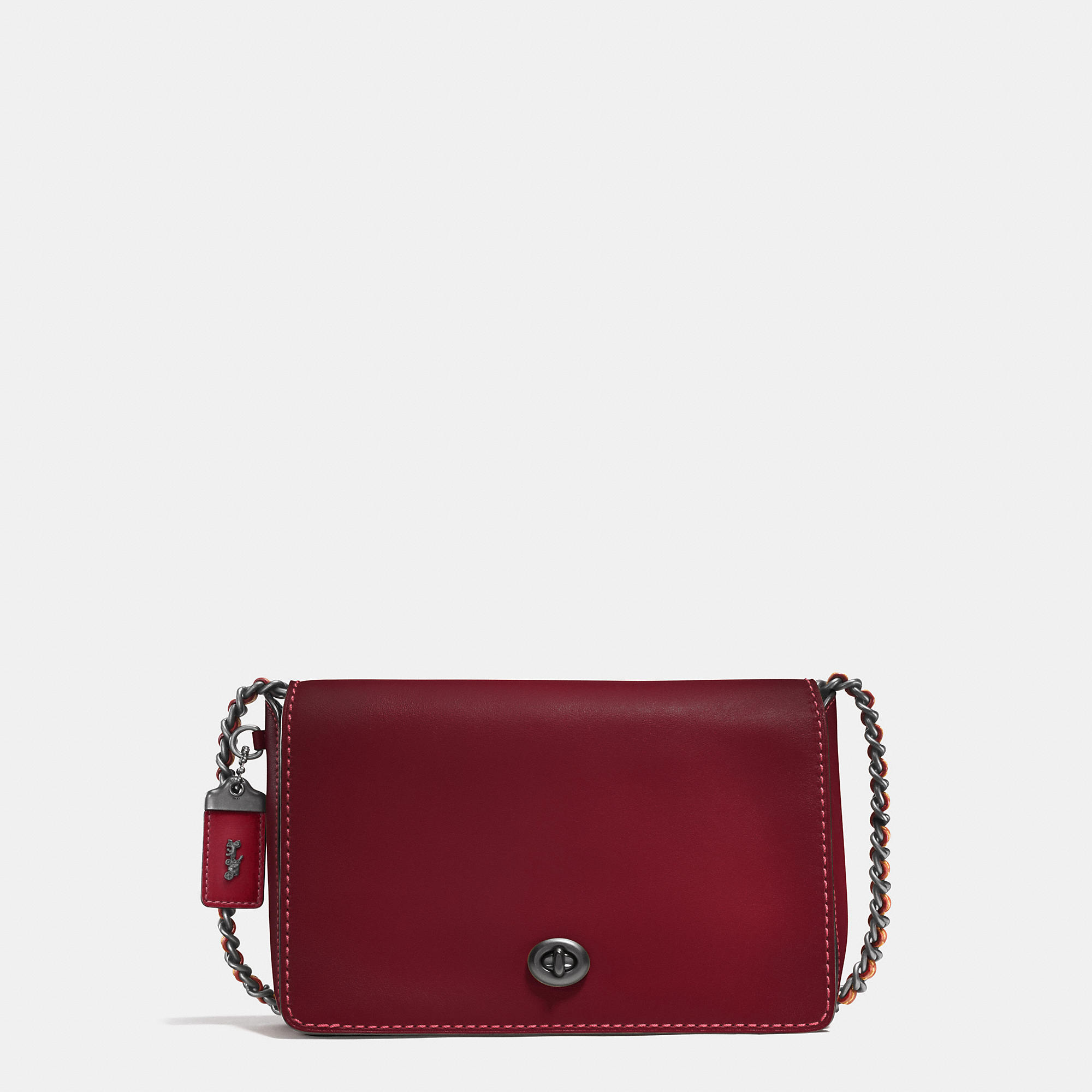 Coach Dinky 24 In Glovetanned Leather