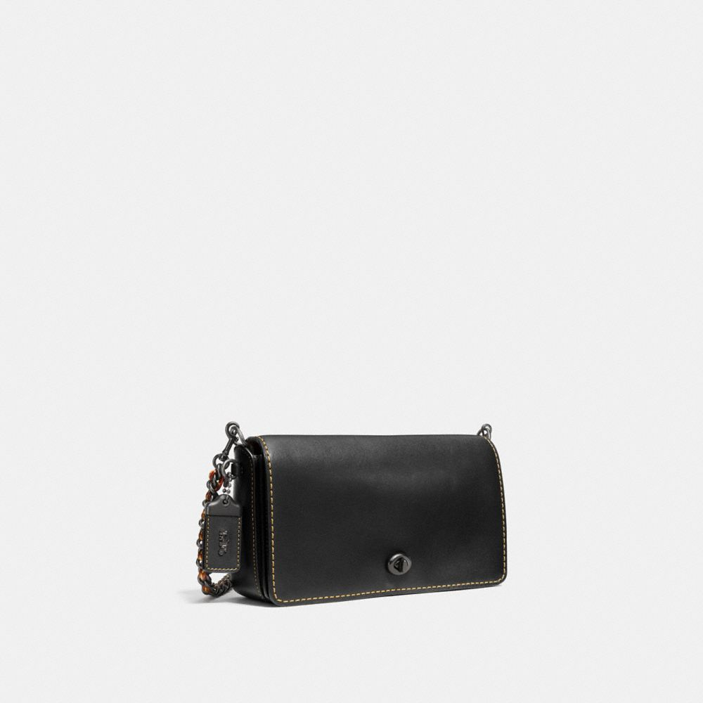 DINKY CROSSBODY IN GLOVETANNED LEATHER - Alternate View A2