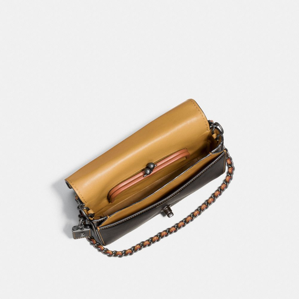 DINKY CROSSBODY IN GLOVETANNED LEATHER - Alternate View A3