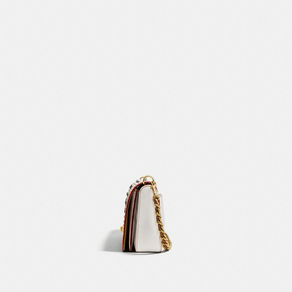RIVETS DINKY CROSSBODY IN PEBBLE LEATHER - Alternate View A1