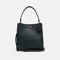 CHARLIE BUCKET BAG - V5/PINE GREEN - COACH 55200