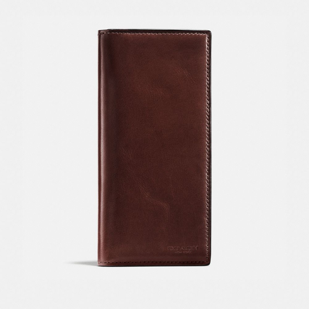 BOXED BREAST POCKET WALLET IN WATER BUFFALO LEATHER - Alternate View