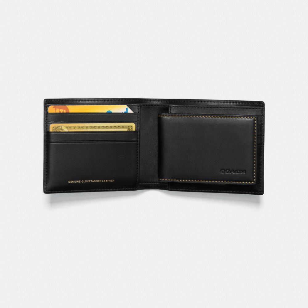 Coach 3-In-1 Wallet in Glovetanned Leather With Rexy Alternate View 1