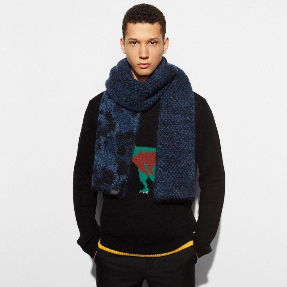 Wild Beast Knit Scarf