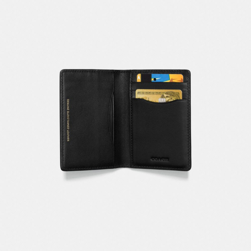 Rexy Card Wallet in Glovetanned Leather - Alternate View L1