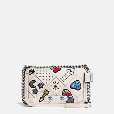 COACH SWAGGER SHOULDER BAG IN EMBELLISHED CANYON QUILT LEATHER