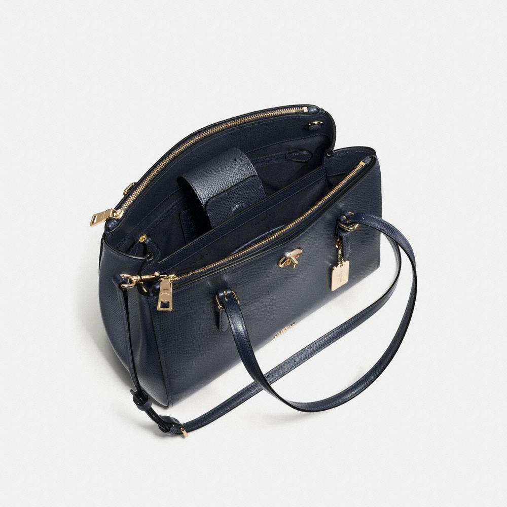 TURNLOCK CARRYALL 29 IN CROSSGRAIN LEATHER - Alternate View A3