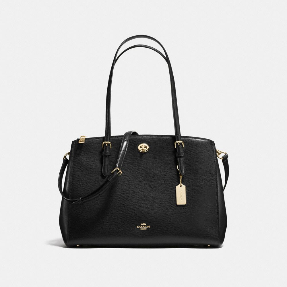 Coach Turnlock Carryall in Crossgrain Leather