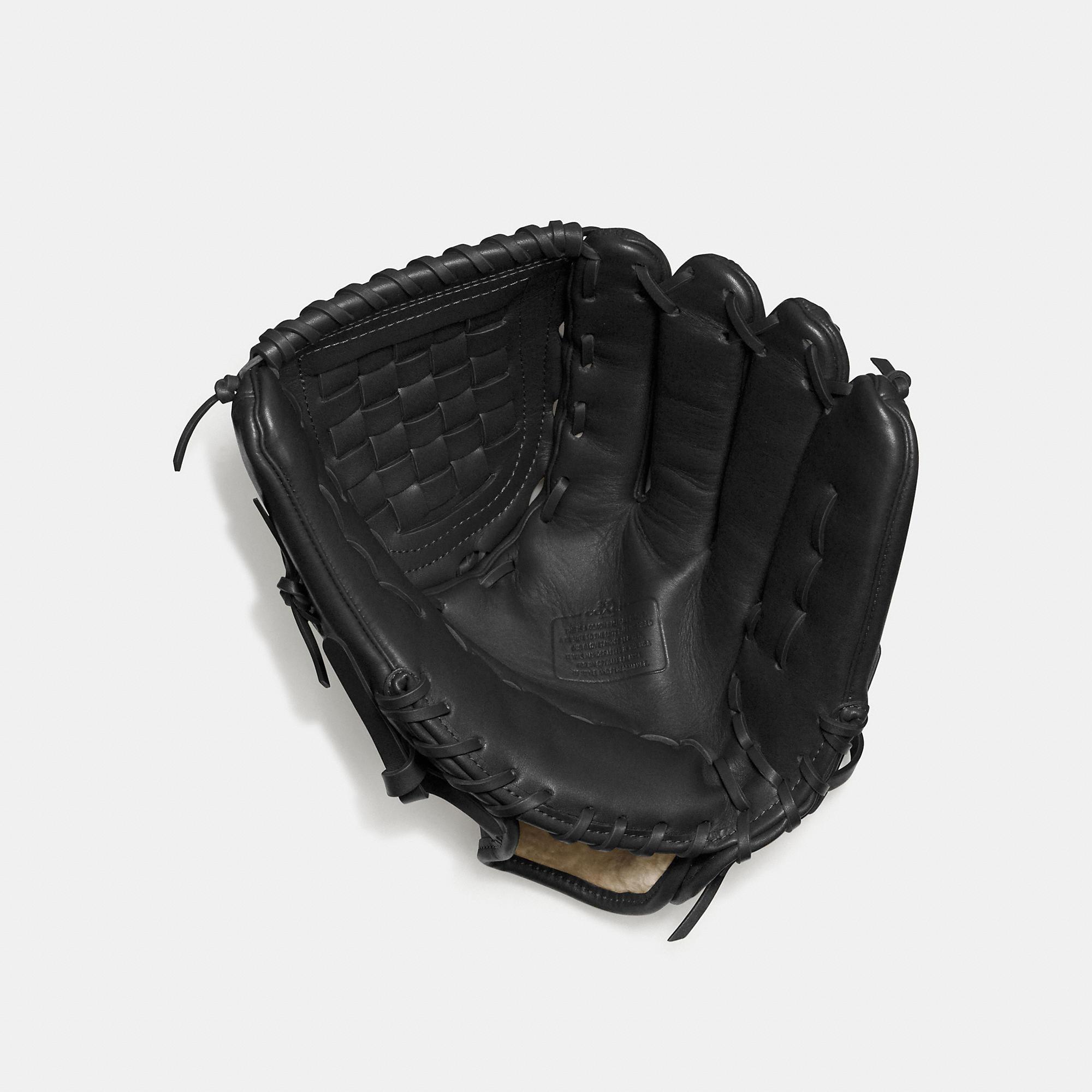 Coach Baseball Glove In Glovetanned Leather