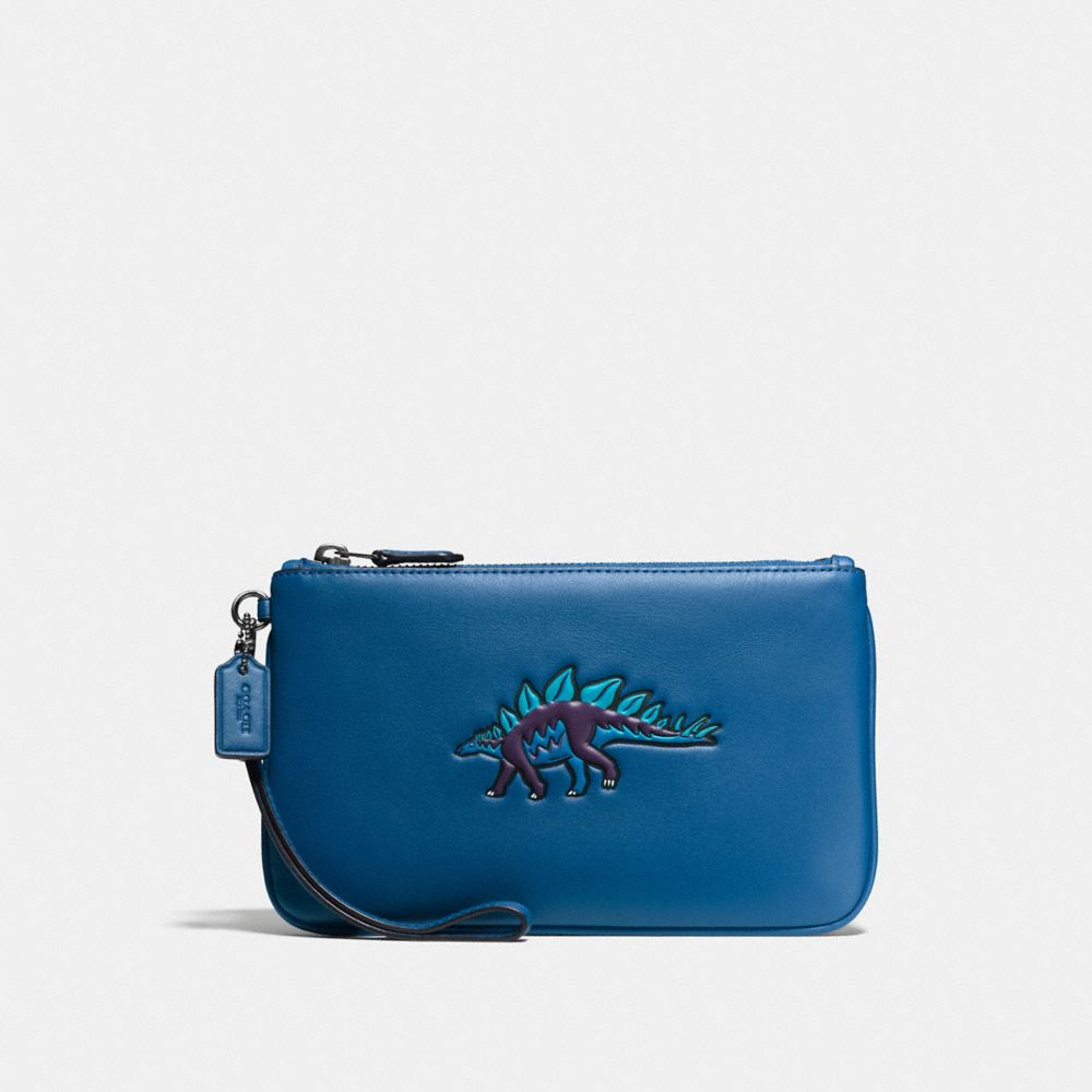 Coach Small Wristlet With Coach Beasts