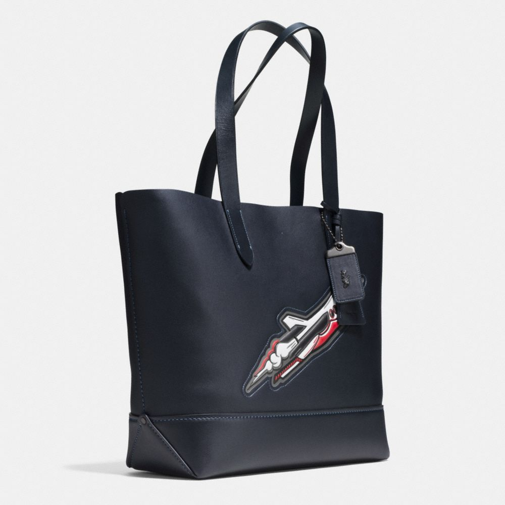 Coach Rocket Ship Gotham Tote in Glovetanned Leather Alternate View 2