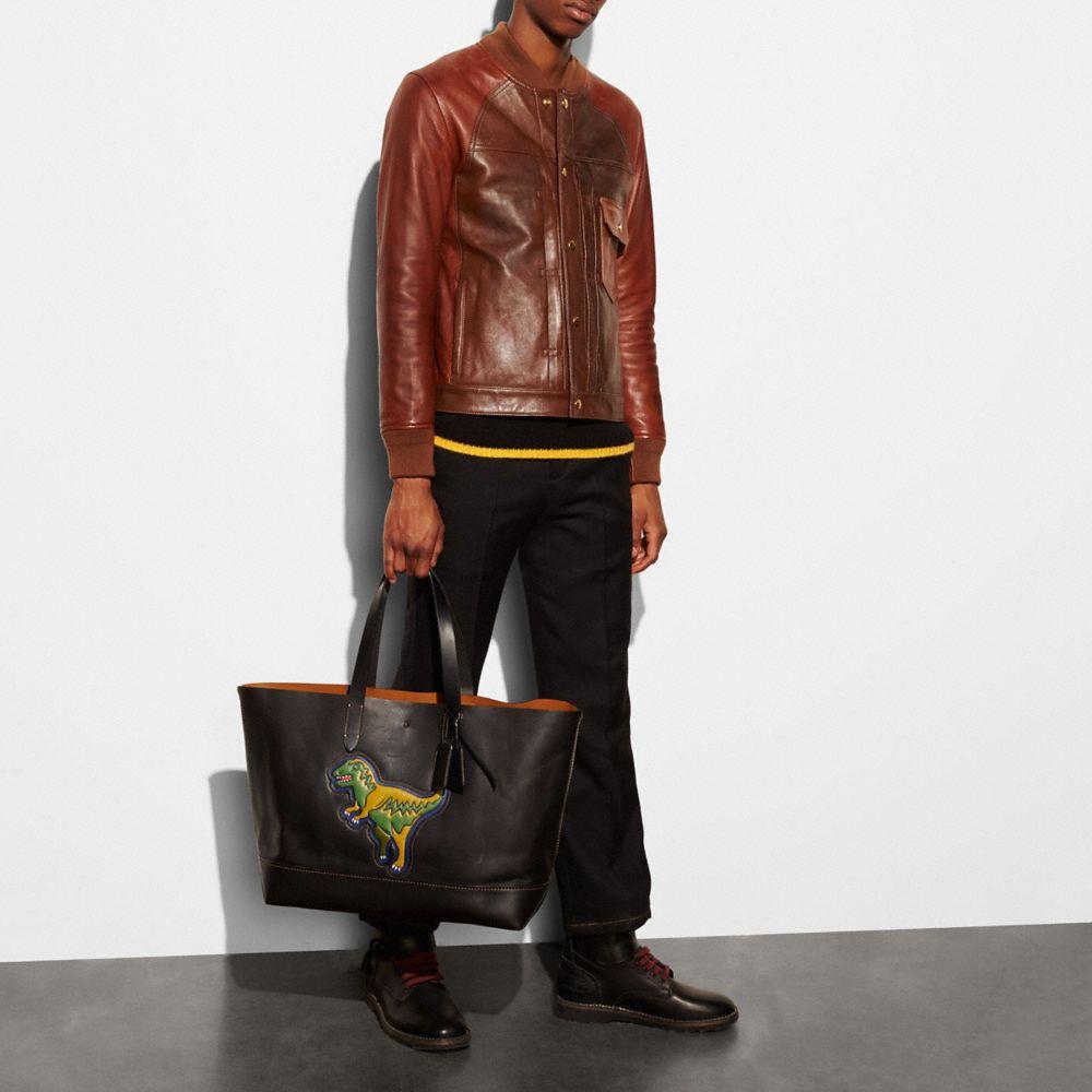 Rexy Gotham Tote in Glove Calf Leather - Alternate View A3