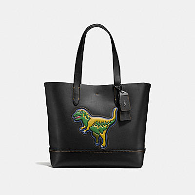 REXY GOTHAM TOTE IN GLOVETANNED LEATHER