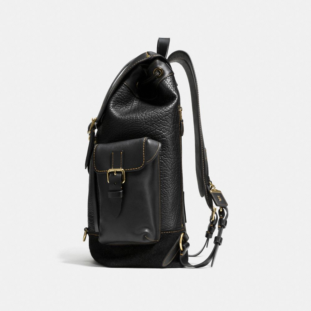 Gotham Backpack in Mixed Materials - Alternate View A1