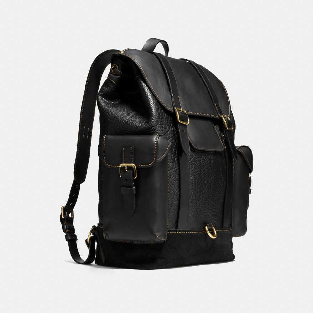 Gotham Backpack in Mixed Materials - Alternate View A2