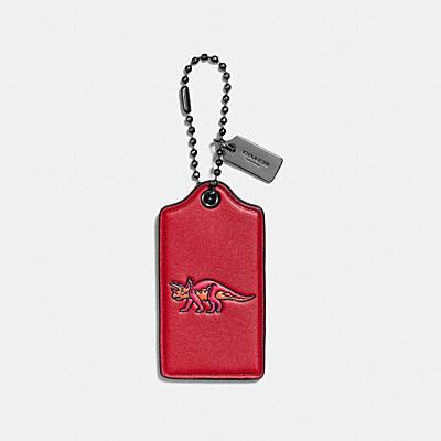 TRICKY 棒球手套鞣製皮革吊牌