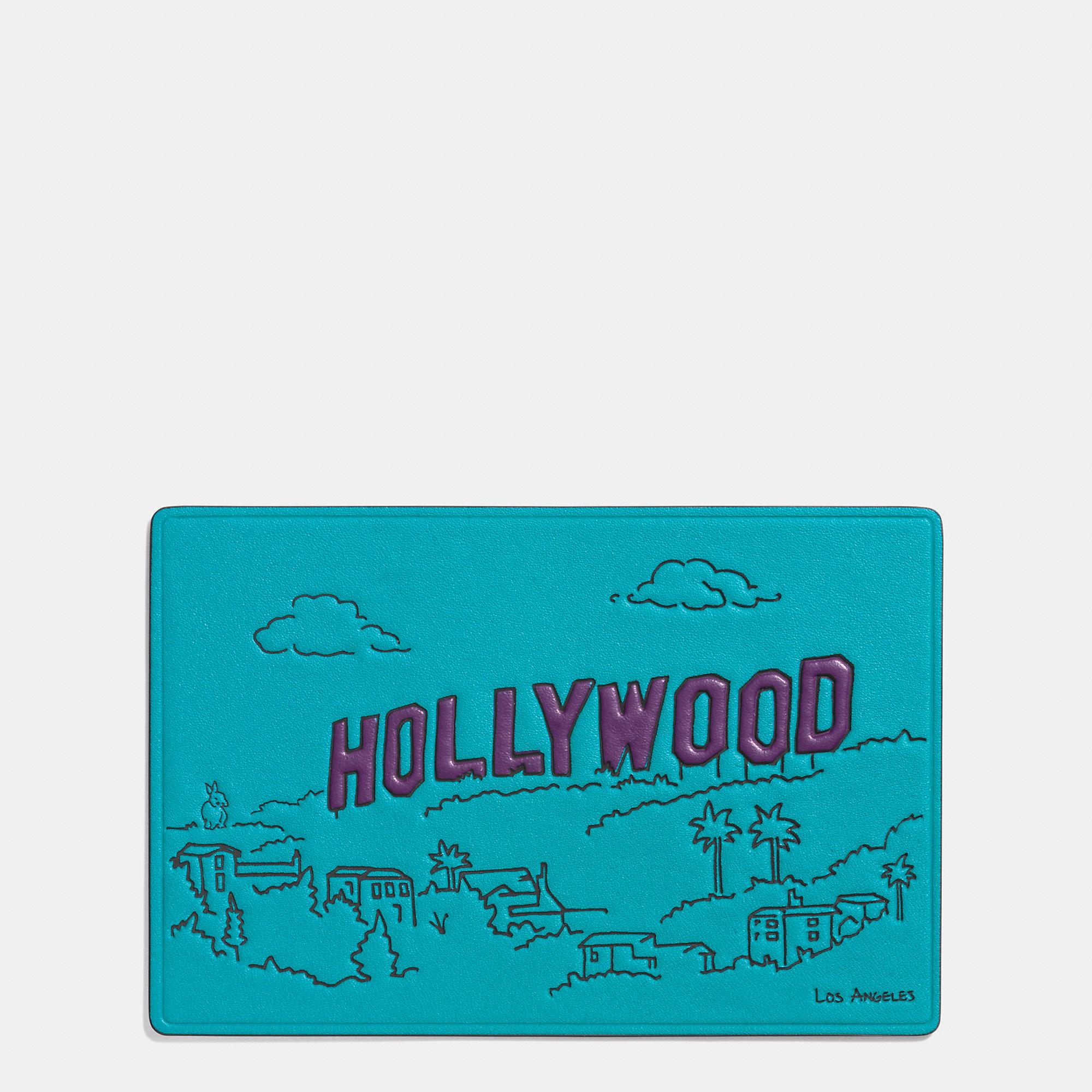 Coach Los Angeles Postcard