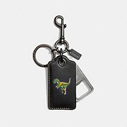 REXY BOTTLE OPENER - BLACK - COACH 56144