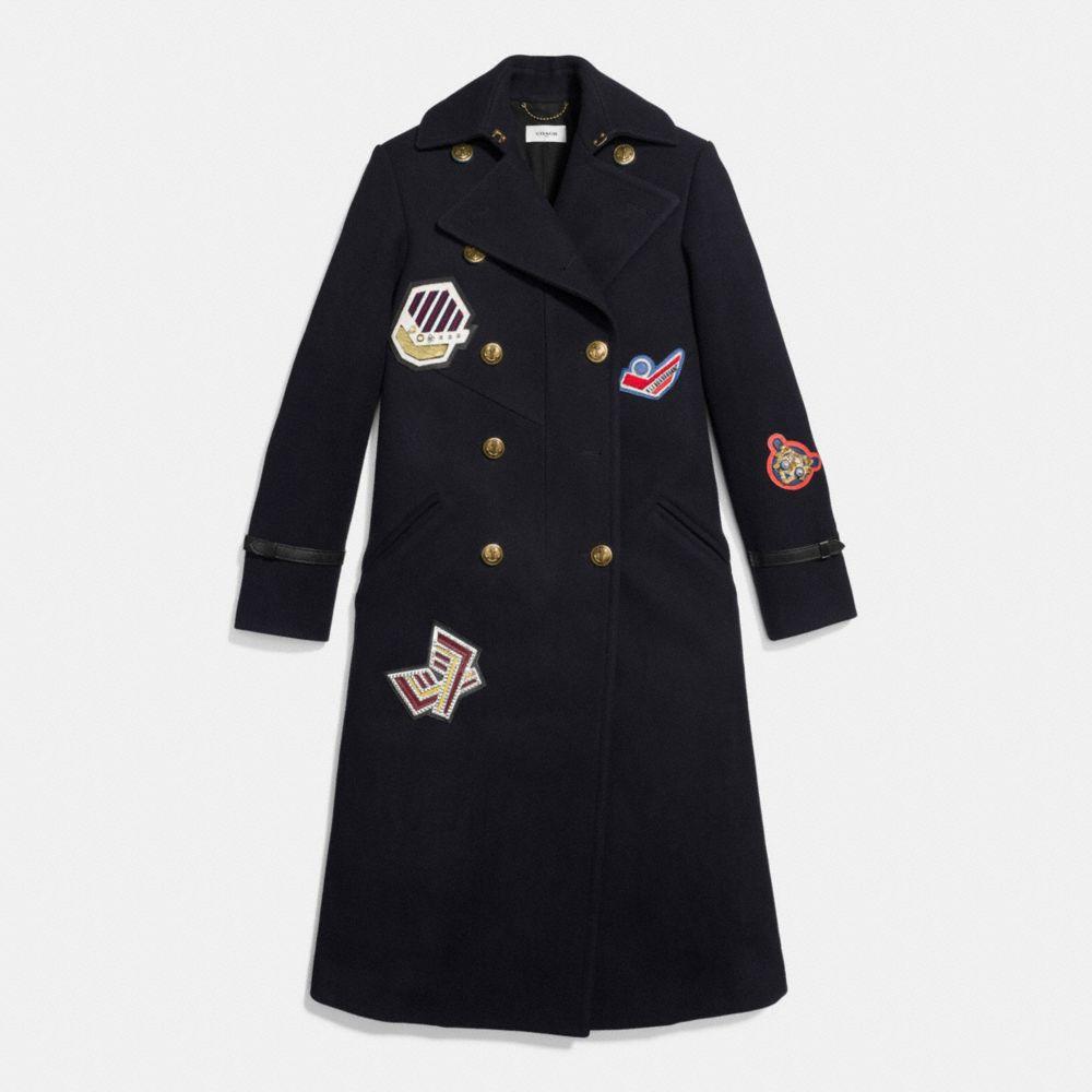 Naval Long Coat - Alternate View A1