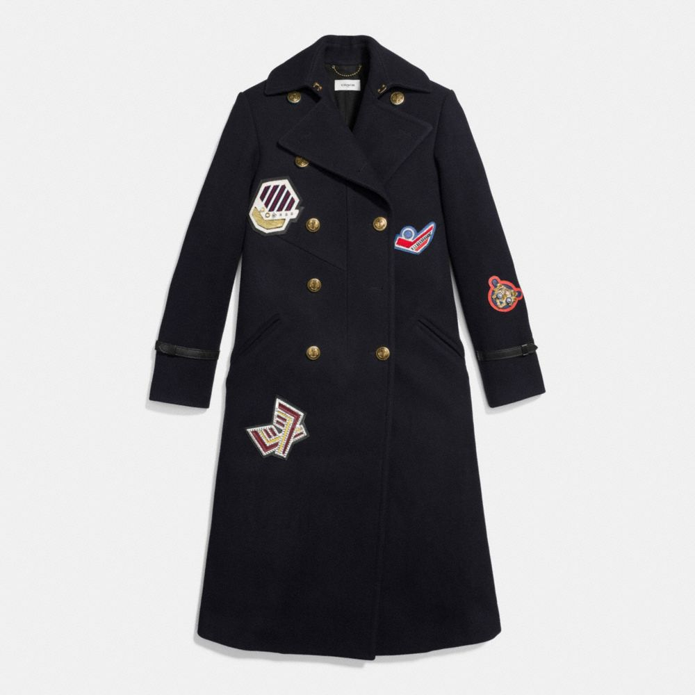 NAVAL LONG COAT - Alternate View