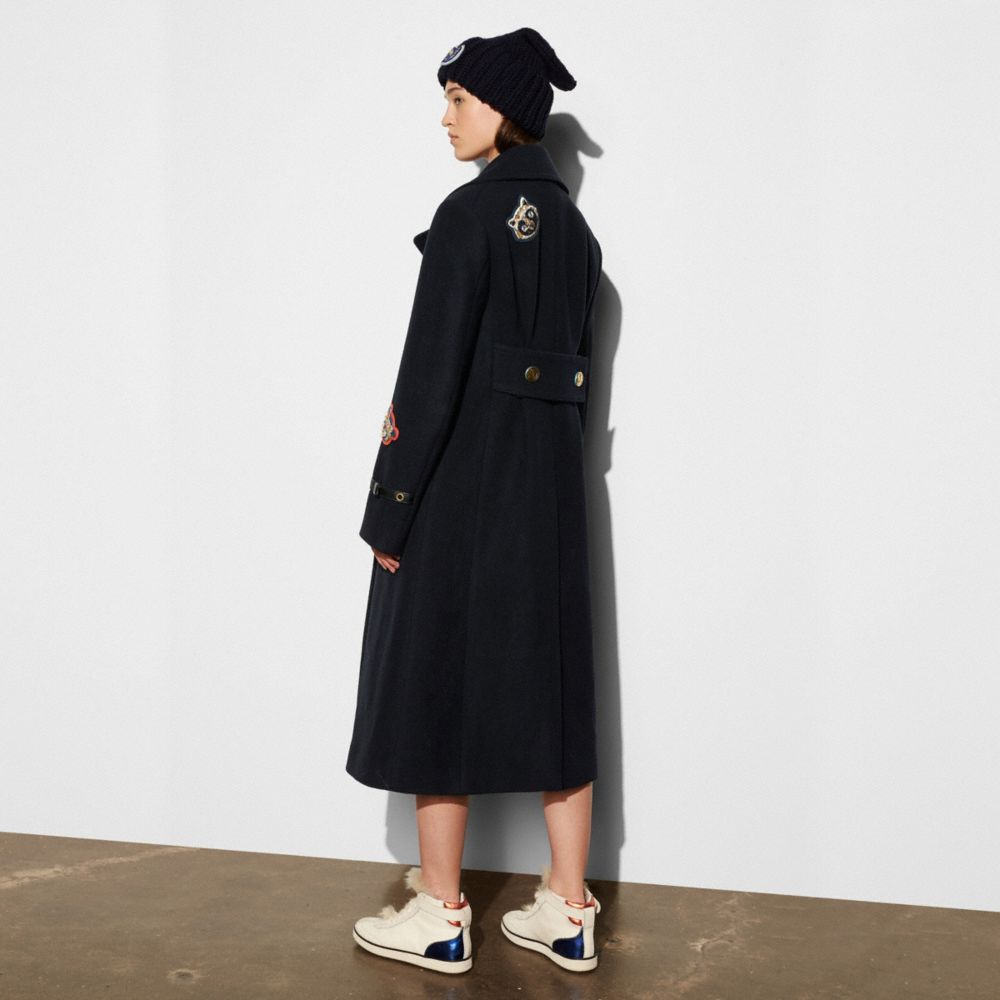 Naval Long Coat - Alternate View M1