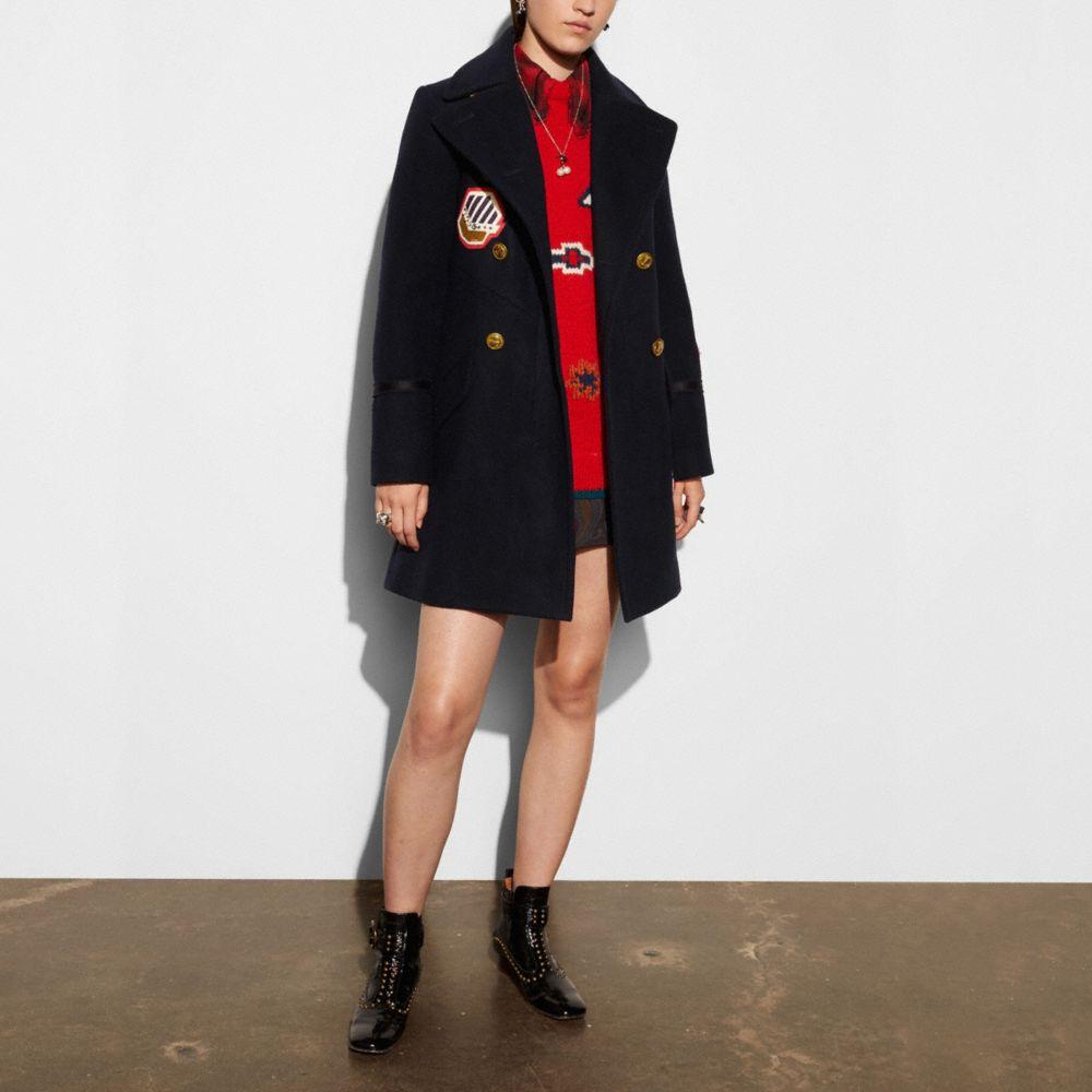 Naval Officer Coat