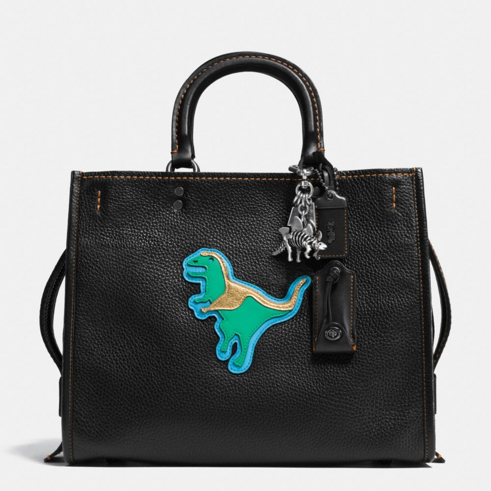 Dino Rogue Bag in Glovetanned Pebble Leather - Alternate View A1