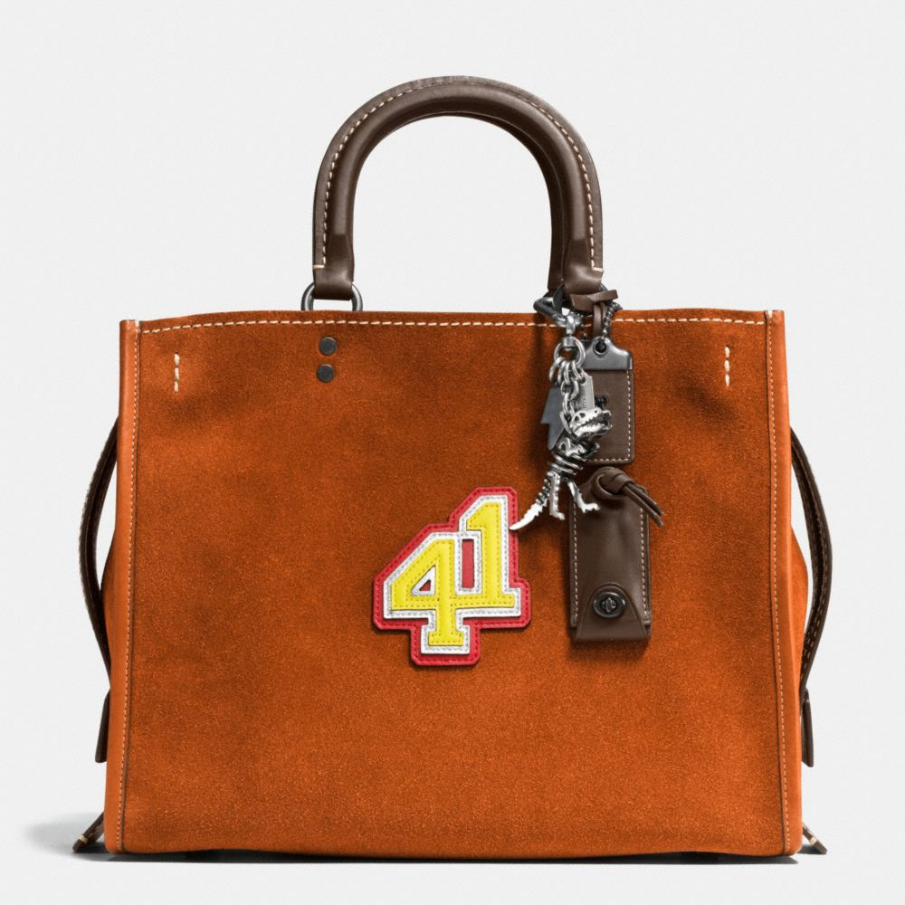 41 ROGUE BAG IN SUEDE - Alternate View A1
