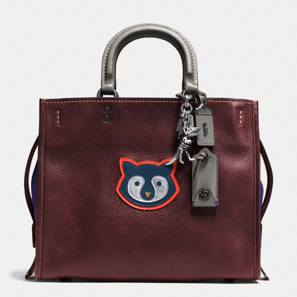 Raccoon Rogue Bag in Pebble Leather - Alternate View A1