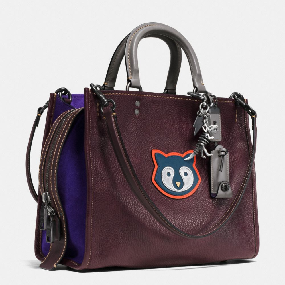 RACCOON ROGUE BAG IN PEBBLE LEATHER - Alternate View A3